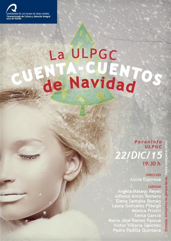 La ULPGC cuenta-cuentos por Navidad