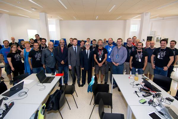 Imagen de la celebración en la ULPGC del XIV Encuentro de Desarrolladores QGIS