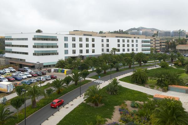Imagen de archivo de la Facultad de Economía, Empresa y Turismo en el Campus de Tafira