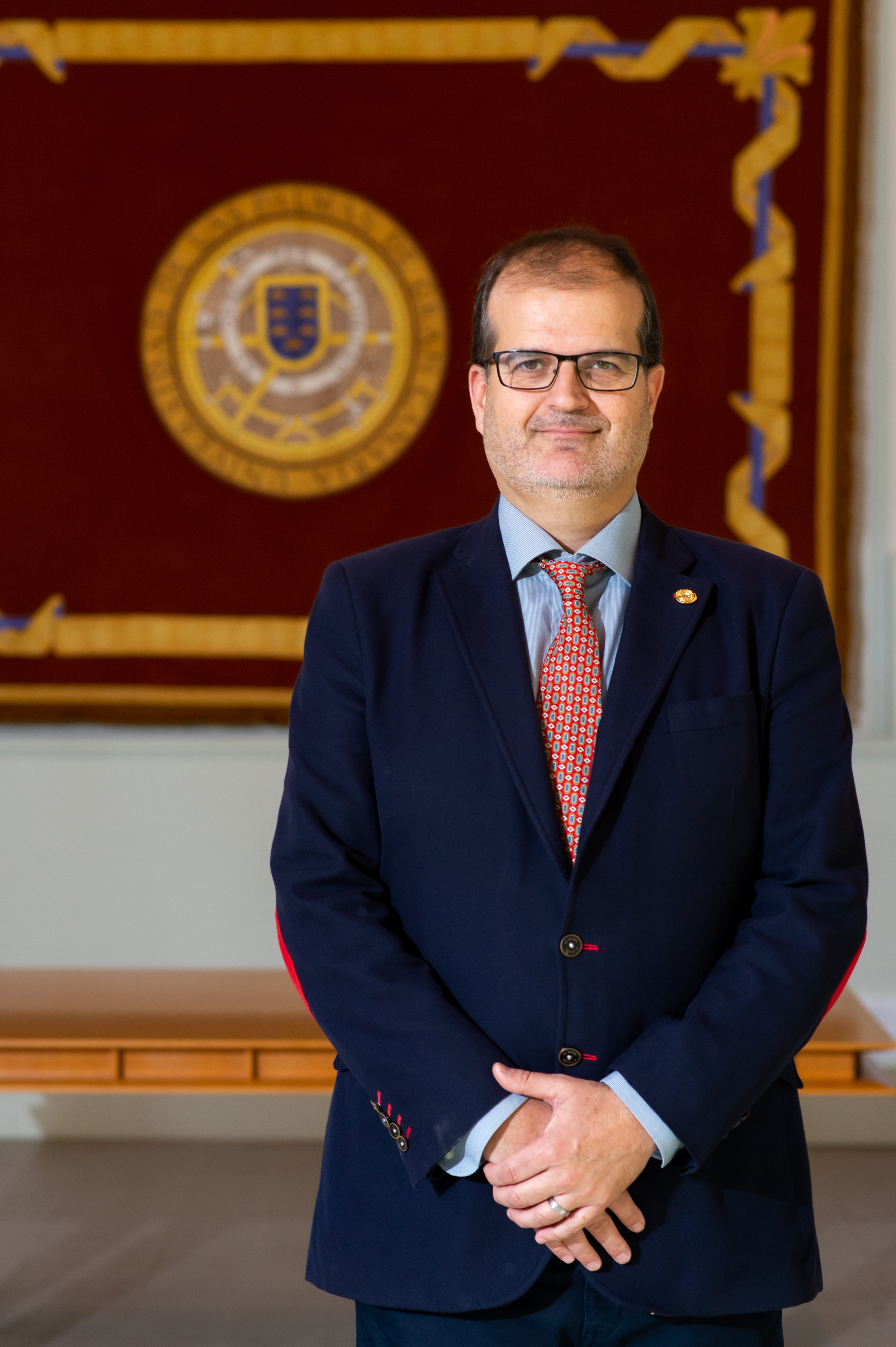 Vicerrector José Pablo Suárez Rivero