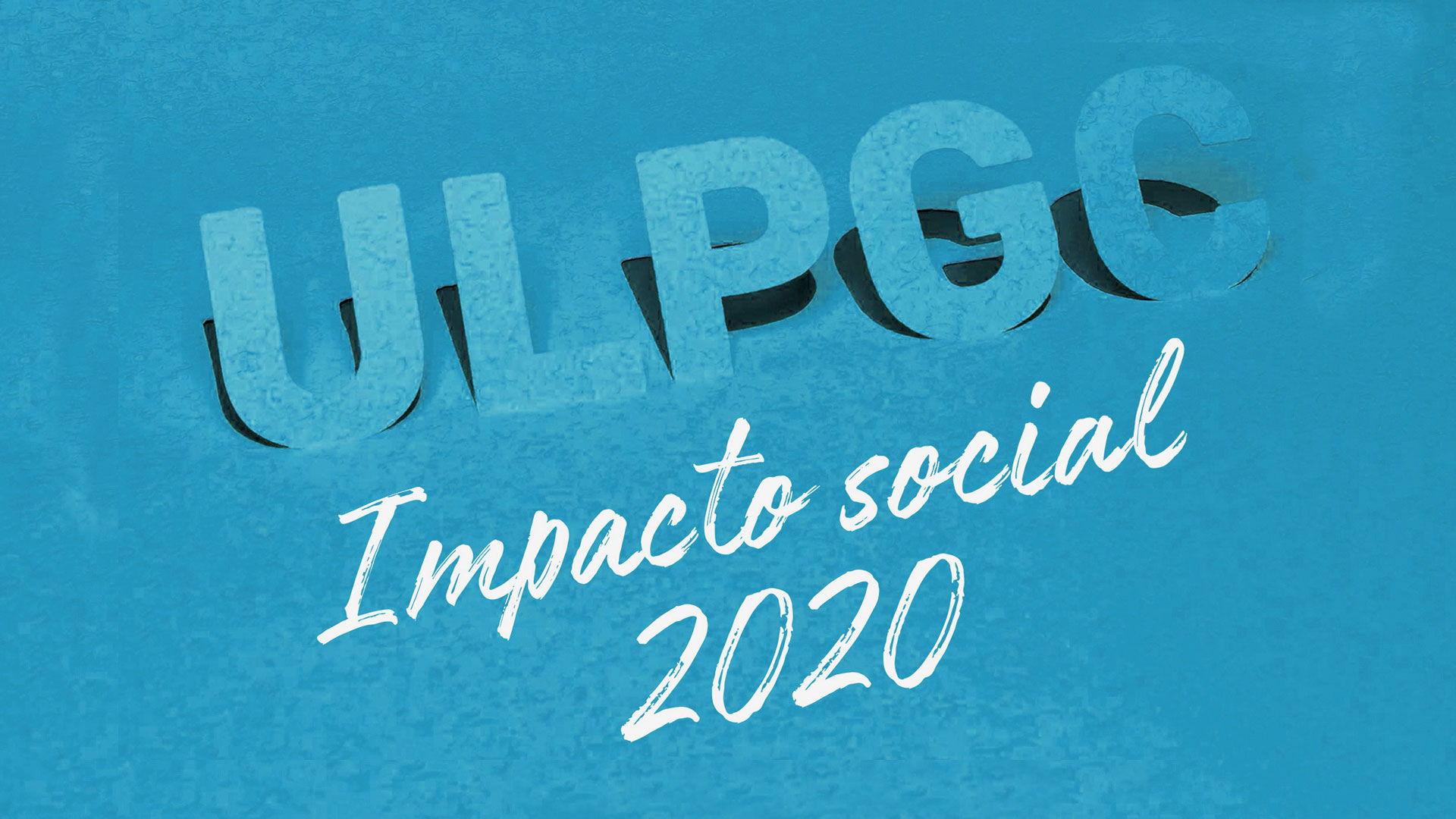 Imagen ULPGC Impacto Social 2020