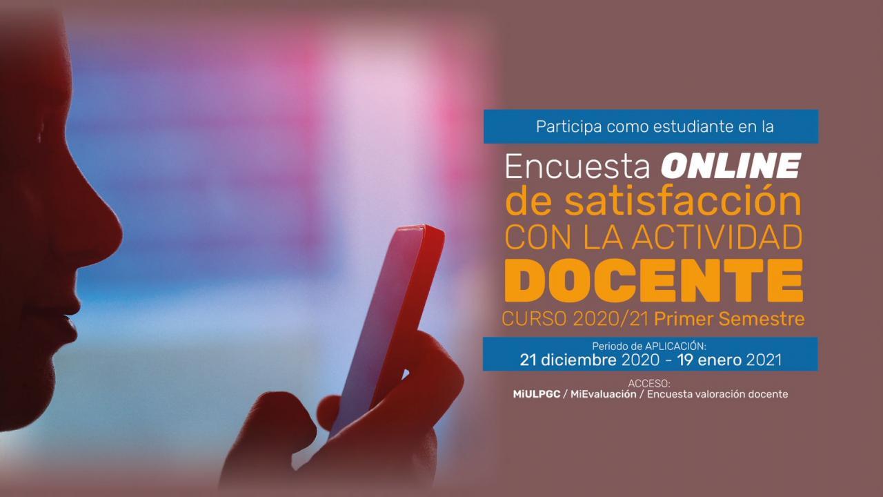Imagen Encuesta Online actividad docente