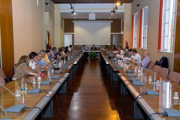 Imagen de la sesión del Consejo de Gobierno