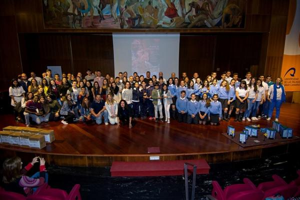 Foto de familia de los participantes