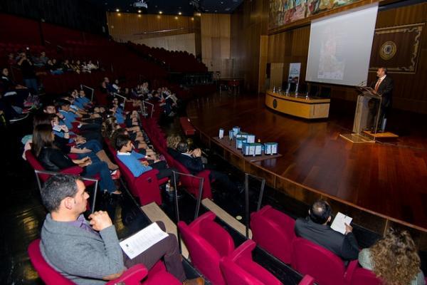 La final fue inaugurada por el Vicerrector de Títulos y Doctorado de la ULPGC