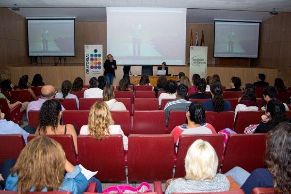 Otra imagen de la conferencia