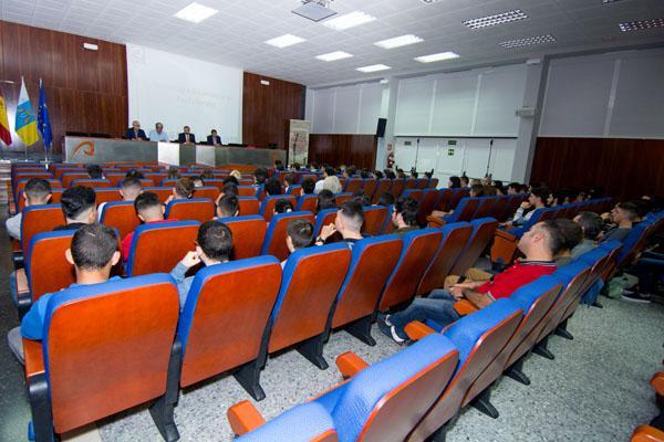 Otra imagen del encuentro celebrado en el Campus de Tafira