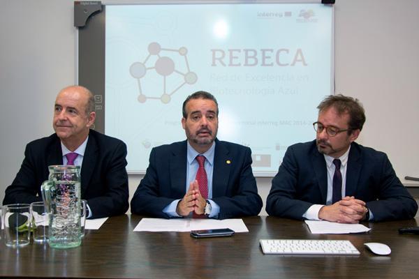 Otra imagen de la reunión de lanzamiento, que estuvo presidida por el Rector Robaina (c)