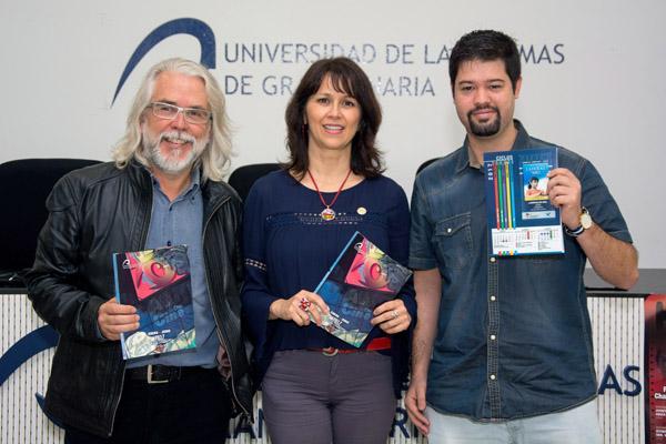 De izda. a dcha.: Diego Grimaldi, María del Pino Quintana e Iván Martín