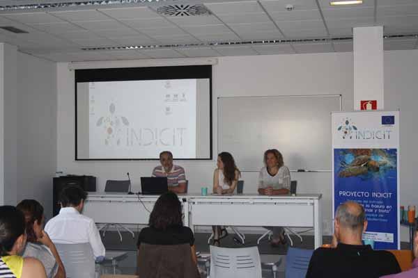 Otra imagen de la presentación del proyecto, a cargo del director del Instituto EcoAqua Ricardo Haroun