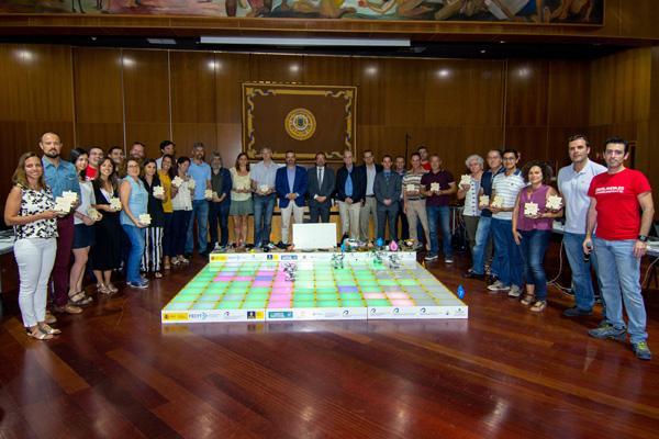 Foto de grupo de los participantes en la Gran Final