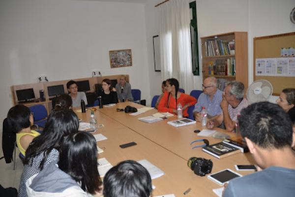 Otra imagen de la reunión