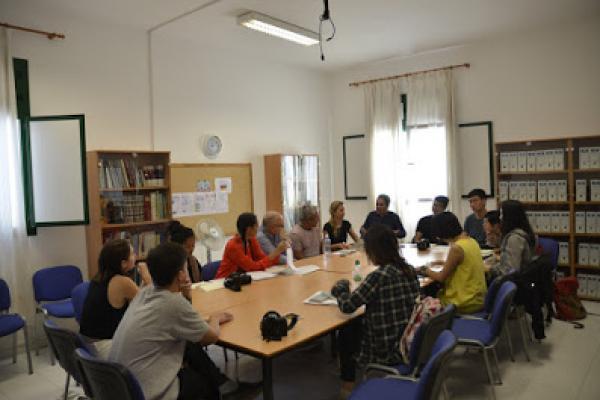 Imagen de la reunión con la delegación de la Universidad de Columbia