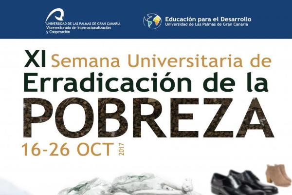 Cartel de la Semana Universitaria para la Erradicación de la Pobreza - SUEP