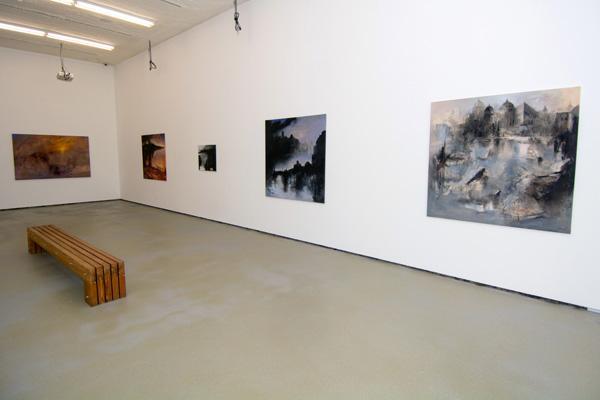 Imagen de la exposición instalada en la Galería de Arte de la ULPGC