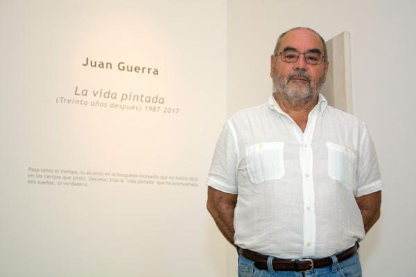 El pintor Juan Guerra