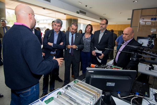Los Institutos Universitarios del Área Tecnológica realizaron demostraciones sobre las últimas innovaciones desarrolladas