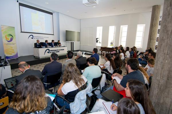 Otra imagen de la jornada celebrada en la Sede Institucional de la ULPGC