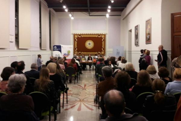 Otra imagen de la presentación en la Sala 26 de Abril de la ULPGC
