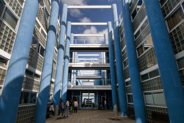 Imagen de archivo del edificio de Ciencias Básicas de la ULPGC, en el Campus de Tafira