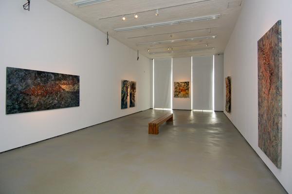 Imagen de la exposición en la Galería de Arte