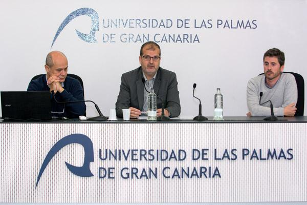 De izda. a dcha.: José Juan Castro, José Pablo Suárez y Diego Gamo