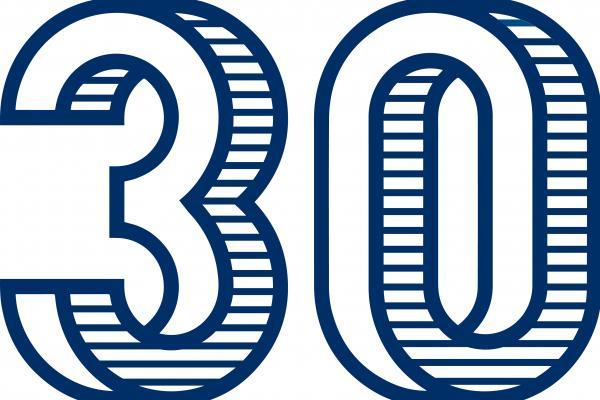 Logo del 30 Aniversario de la ULPGC