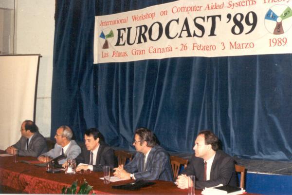 Imagen de la celebración del I Congreso Eurocast, celebrado en 1989